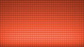 Squere Background Wall Architecture with pattern Red royalty free illustration