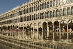 Squere de San Marcos en Venecia Foto de archivo libre de regalías