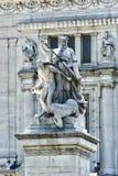 Squere Venezia il vittoriano Fotografia Stock Libera da Diritti