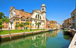 Squero Di San Trovaso, Venetië, Italië Stock Afbeelding