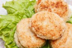 Squid burgers Stock Images