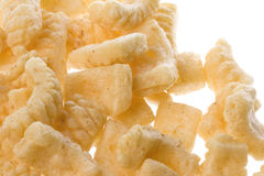 Squid Crackers Isolated Stock Photography