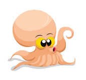 Squid so cute Stock Photography