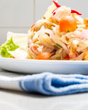 Squid eggs spicy salad Stock Photography