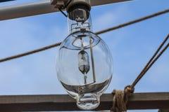 Squid fishing boat light bulb Stock Photo