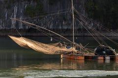 Squid fishing net Stock Photo