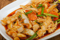 Free Squid In Sauce Royalty Free Stock Photography - 80981627