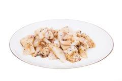 Squid marinated Royalty Free Stock Photos