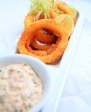 Squid ring crispy Royalty Free Stock Photography