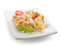 Squid rings Stock Images