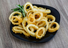 Squid rings Stock Image