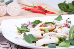 Squid salad Royalty Free Stock Photography