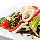 Squid Salad Stock Image