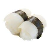 Squid sushi Royalty Free Stock Image