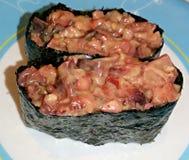 Squid sushi Stock Images