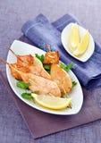 Squids skewers Stock Image
