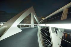 Squiggly Brücke in Glasgow Lizenzfreie Stockfotografie