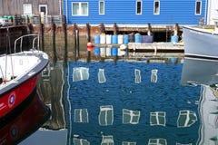 Squiglybezinningen in de scène van de waterkant Royalty-vrije Stock Foto