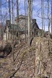 Squire's Castle. Historic landmark of Ohio Stock Photo