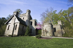 Squire's Castle. Historic landmark of Ohio Royalty Free Stock Images