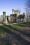 Squire's Castle. Landmark of Ohio Stock Image