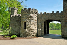 Squires Castle. Image of squires castle, Cleveland Metroparks royalty free stock image