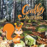 Squirrel in the autumn forest. Stock Images