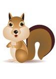 Squirrel cartoon Stock Photo
