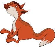 The squirrel. Cartoon Royalty Free Stock Photo