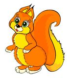 Squirrel cartoon Stock Photo