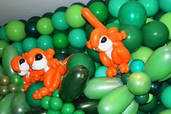 Squirrel Design Balloons Stock Images