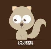 Squirrel design Stock Photography