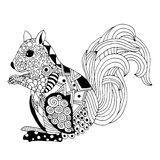 Squirrel illustration Royalty Free Stock Photography