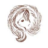 Squirrel logo Stock Images