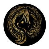 Squirrel logo Stock Photos