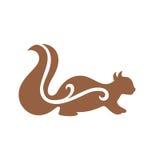 Squirrel o passeio Imagem de Stock