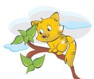 Squirrel or Sciuridae, illustration Stock Photography