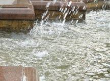 Squirt, брызните фонтан Часть фонтана города Стоковое фото RF