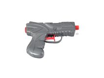 Squirt gun. Toy water gun, on white background with clipping path Royalty Free Stock Photo
