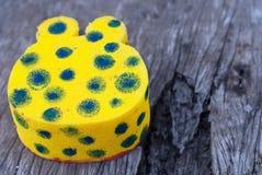 Squishy giallo Immagine Stock
