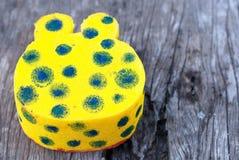Squishy giallo Immagini Stock