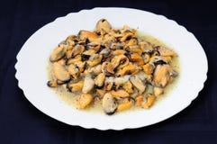 Squisitezza dei crostacei dell'insalata Fotografia Stock Libera da Diritti