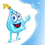 Sr. Água Gota - excepto mim Fotos de Stock
