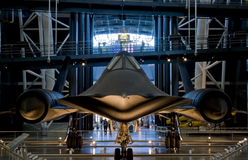SR-71 Blackbird Stock Image