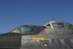 SR-71 Cockpit. An SR-71 spy-plane cockpit stock photo