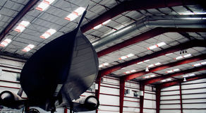An SR-71A Blackbird Stock Photo