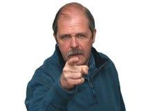 Sr. Angry Fotografía de archivo libre de regalías