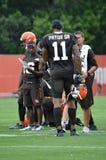 SR Cleveland Browns van Terrellepryor stock afbeelding