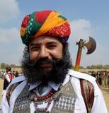 Sr. Festival Jaisalmer del desierto del bigote Imagenes de archivo