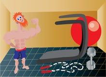Sr. Gym Clark libre illustration